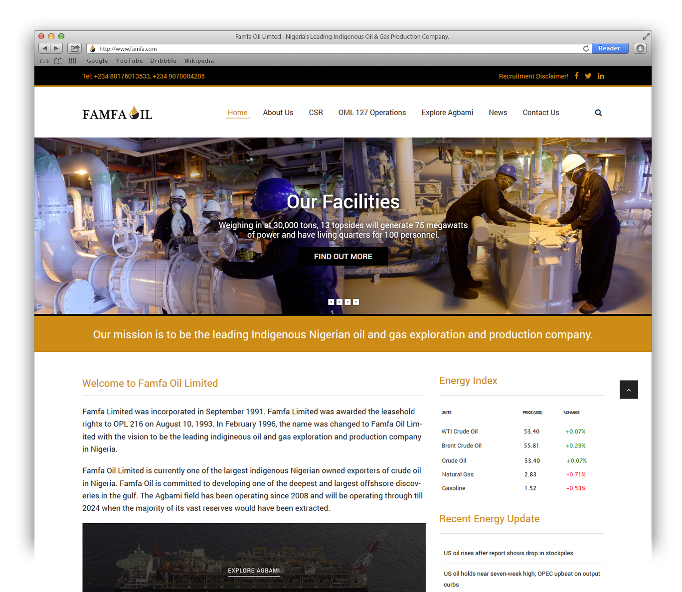 famfa website
