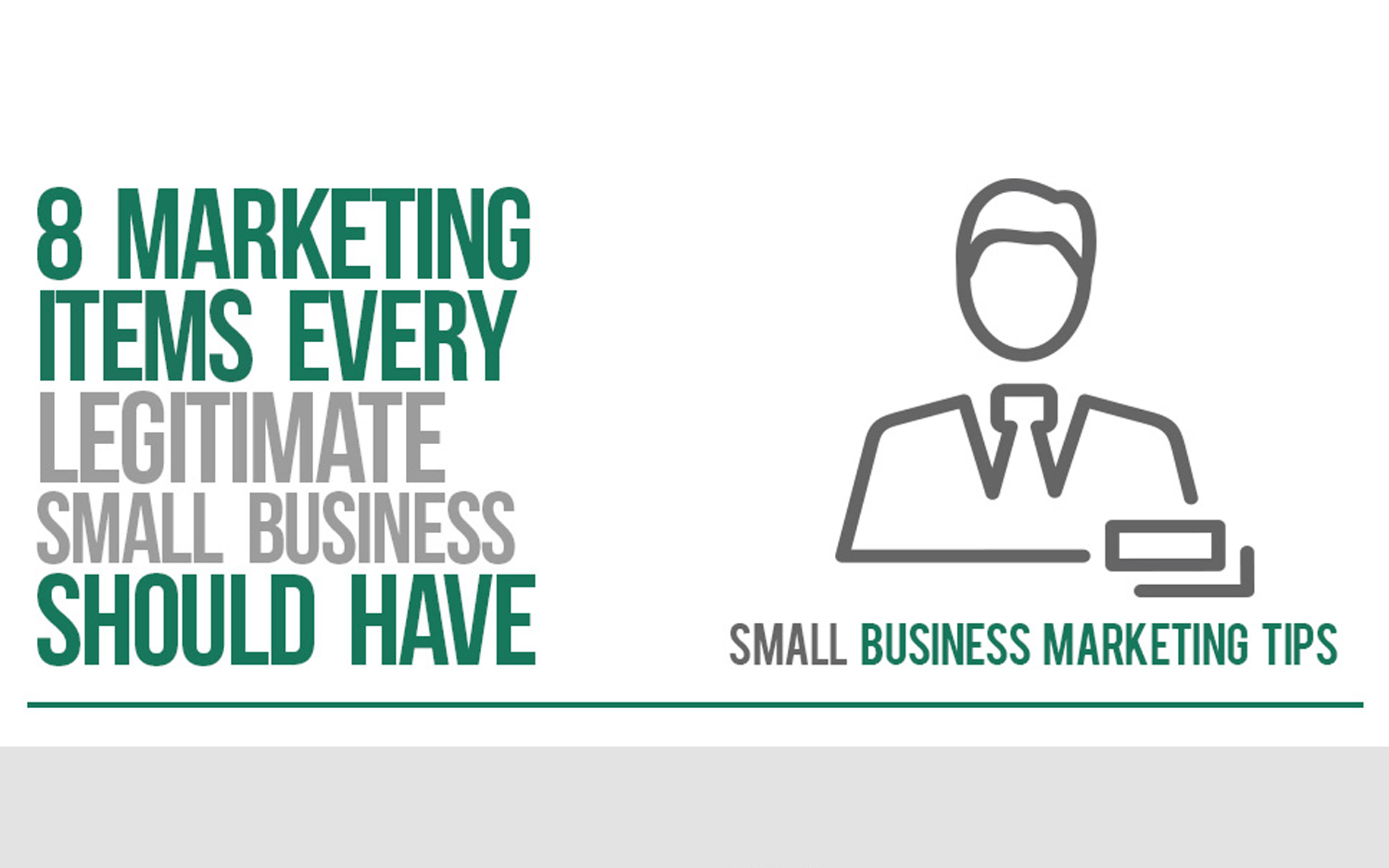 8 Marketing Items Your New Business Must Have